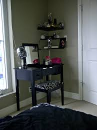 Bedroom Vanity Plans Bedroom Small Black Bedroom Vanity With Lift Top Mirror And