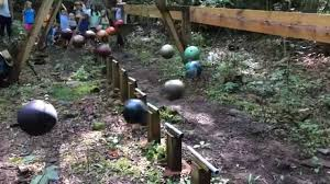 Bowling Ball Garden Art Pendulum Wave Demonstration Youtube