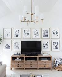 Affordable Wall Decor Best 25 Tv Gallery Walls Ideas On Pinterest Decorating Around
