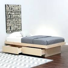 Platform Bed Wood Platform Bed Solid Wood Ikea Size Storage Sarahdinkelacker