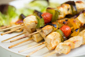 How To Make Chicken In A Toaster Oven How To Cook Shish Kabobs In The Oven Livestrong Com