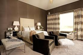 cream and brown bedrooms contemporary bedroom