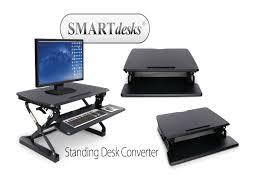 sit and stand desk converter smartdesks standing desk converter