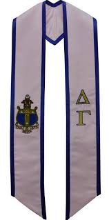 sorority graduation stoles delta gamma sorority graduation stole
