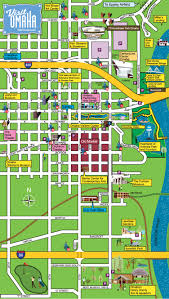 Map Of Page Arizona by Downtown Omaha Map U2014centurylink Center Omaha Convention Center And