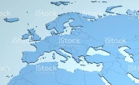3d africa map vector europe middle east africa 3d stock vector 644134652 istock