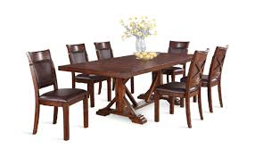 woodsman table and 6 side chairs hom furniture furniture
