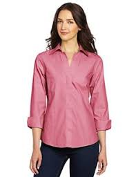 foxcroft blouses foxcroft s 3 4 sleeve non iron shirt cherry blossom