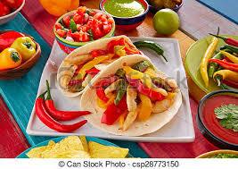 cuisine mexicaine fajitas mexicain guacamole nourriture tacos fajitas poulet images