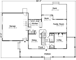 country style house plan 4 beds 2 50 baths 2260 sq ft plan 312 471