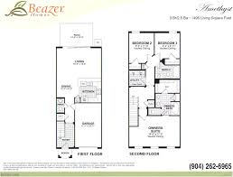 3 story townhouse floor plans emerald preserve at bartram park community in jacksonville florida