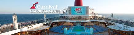 Carnival Conquest Floor Plan carnival sunshine cruise ship 2017 and 2018 carnival sunshine