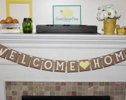 military welcome home decorations items similar to welcome home banner on etsy