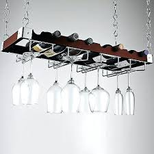 wine rack wine holder chandelier view in room a alternate view