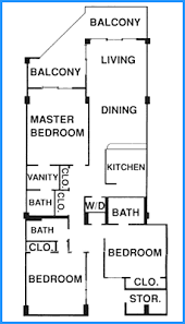 3 Bedroom Condos Myrtle Beach Crescent Sands Floorplans North Myrtle Beach Condo Rentals North