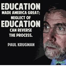 Neglected Wife Meme - education made america great neglect of education can reverse the