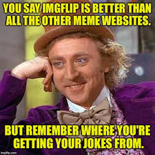 Meme Websites - shut up maam imgflip