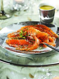 cuisine scandinave recettes recette saumon mariné façon gravlax