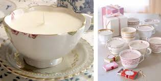 tea cup candles tea cup candles diy christmas decor crafts for adults