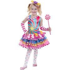 Mad Hatter Halloween Costumes Girls Candy Child Halloween Costume Walmart