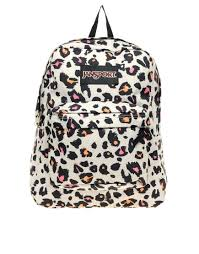 jansport superbreak backpack with cheetah print 73 leopards