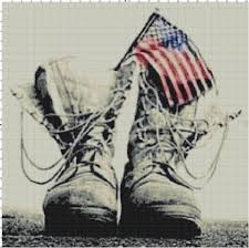 British Flag Boots American Flag And Military Combat Boots Pdf Cross Stitch
