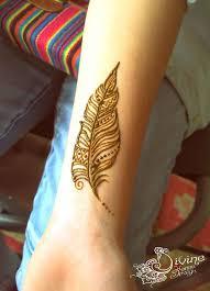28 best henna feather tattoo images on pinterest henna feather