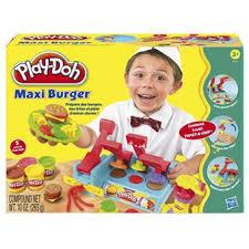 play doh cuisine play doh maxi burger pã te ã modeler pour enfant fnac be