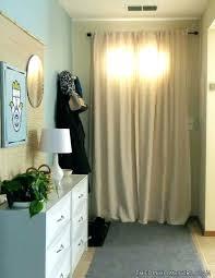 Small Curtain Rods For Sidelights by Front Doors Home Door Door Design Home Door Ideas Image Of Voile