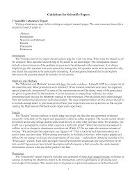 paper writing format scientific paper writing format
