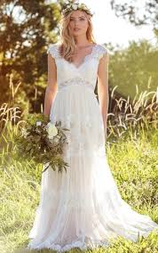 wedding gown dress hippie bridal dresses casual wedding gowns dorris wedding
