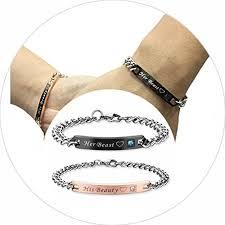 stainless steel crystal bangle bracelet images Marosia mart 4eaelove his her couple bracelet matching jpg