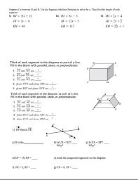 Angle Addition Postulate Worksheet Answers 28 Geometry Postulates Worksheets Worksheet Segment Addition