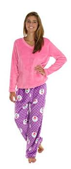 pajamamania fleece pajama sets cupcakes med fleece pajamas
