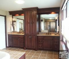 double sink bathroom ideas bathroom with cherry bathroom subway contemporary narrow vanity