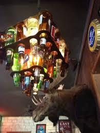 Beer Bottle Chandelier Diy Lámpara De Botellines Pienso Hacerme Una Con Mis Botellas De