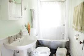 Clawfoot Tub Bathroom Design Ideas Bathroom Flooring Transitional Bathroom Clawfoot Tub In Tiny