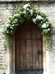 wedding flower arches uk wedding flowers online modern country style green hydrangea and
