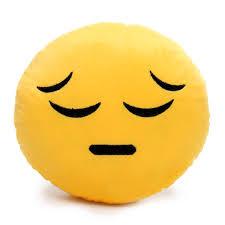almofada emoji triste biro 80361463 laura morales pinterest
