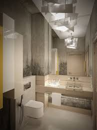 bathroom glass shower room modern granite wall colors lighting