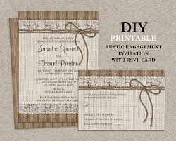 rustic invitations rustic engagement party invitations endo re enhance dental co