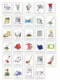 cartoon pictures of cleaning susan fitch design job chart i am a mother and like most