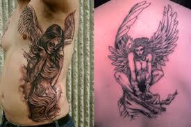 fallen tattoos what s their meaning plus ideas photos