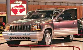 jeep grand wagoneer concept how the grand cherokee became a jeep