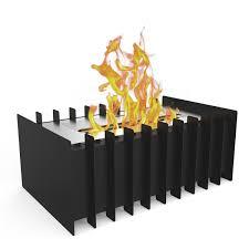 elite flame 12 inch ventless bio ethanol fireplace grate burner