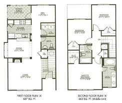two story small house plans modern town house two story house plans three bedrooms houseplan