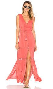 maxi dress ale by alessandra x revolve juliana maxi dress in coral crush