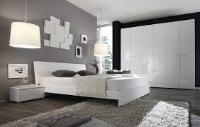 schlafzimmer weiß hochglanz eiche natur tambio24 designermöbel
