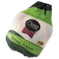 frozen whole turkey empire kosher frozen whole turkey 10 14 lbs