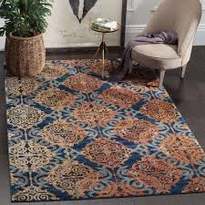7 X 9 Area Rugs Cheap by Orange Area Rugs Rugs The Home Depot